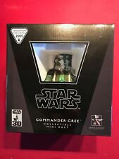 GENTLE GIANT Star Wars COMMANDER GREE Mini Bust Exclusive NIB 2196/2500 ROTS