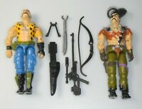 Lot GI Joe Cobra Dreadnok Set 1989 Gnawgahyde 1987 Zanzibar Figures Accessories