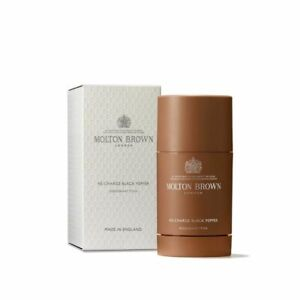 Molton Brown Re-Charge Black Pepper Deodorant Stick - NIB FRESH SEALED AUTHENTIC