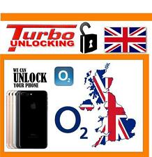 FOR IPHONE 7 AND 7 PLUS O2 UK UNLOCKING SERVICE FASTEST ON EBAY