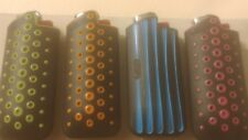 4 Pcs Bic Gripper Case with mini size lighters