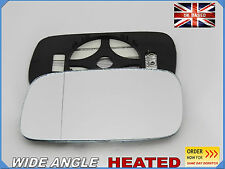 Wing Mirror CAR Glass For Saab 9 3 1998-2002 Wide Angle HEATED Left Side #SA003