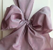 "5"" French Wired Ribbon - Lilac $2.50 Per Yard Christmas Ribbon"