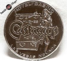 $1 SLOT TOKEN COIN CASTAWAYS CASINO 1979 CM MINT LAS VEGAS TYPE 2 HOWARD HUGHES