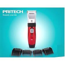 Tondeuse cheveux céramique sans fil et rechargeable 2 batteries 4 sabots PRITECH