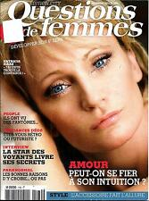 QUESTIONS DE FEMMES (POCKET) n°180 novembre 2012 Patricia Kaas_l'Etrange_6è sens
