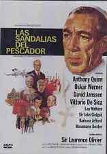 DVD NEW - Las Sandalias Del Pescador - The Shoes Of The Fisherman BRAND NEW