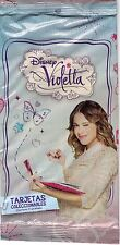 VIOLETTA 2 ENVELOPES PHOTOCARDS AND STICKERS  FROM URUGUAY
