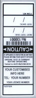 1000 ELECTRICAL / APPLIANCE TEST TAGS / LABELS. INCLUDES FREE CUSTOMISING