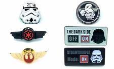 More details for star wars cosplay metal pin badge satz von sechs