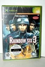 TOM CLANCY'S RAINBOW SIX 3 GIOCO NUOVO XBOX EDIZIONE SPAGNOLA PAL GB1 36083