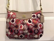 NWT Coach Madison Graphic Op Art FSH Swingpack Bag 46667 Coach Store Product