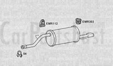 Exhaust Rear Box Fiat Grande Punto 1.9 Diesel Hatchback 02/2006 to 07/2009