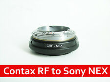 Contax RF KIEV RF to Sony NEX adapter with focusing part CRF NEX adapter