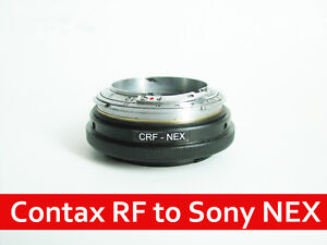 Contax RF KIEV RF to Sony e-mount adapter with focusing part CRF NEX helicoid