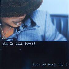 Jill Scott - Who Is Jill Scott? Words and Sounds, Vol. 1 (CD 2000) VG++ 9/10
