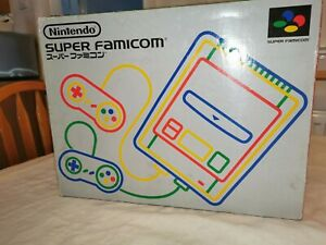Nintendo Super Famicom Console - Boxed With controllers, psu and av cable