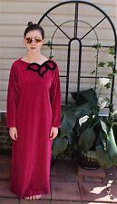 Vintage 80's Oscar de la Renta SWIRL Lounging Nightgown Gown Robe Dress Caftan