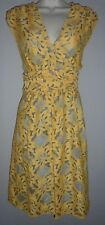 women: PLENTY by TRACY REESE Lace Ruched Lined Dress - Size 8