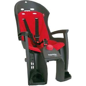 Kindersitz Hamax Siesta Gepäckträger grau/rot, Gepäckträgerbefestigung NEU OVP