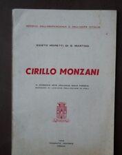 Cirillo Monzani Risorgimento Poli Castelnuovo Monti Garibaldi 1959 Firenze