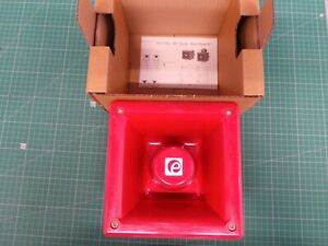 E2S WARNING SIGNALS A112NDC24R ALARM SOUNDER, 24VDC, RED