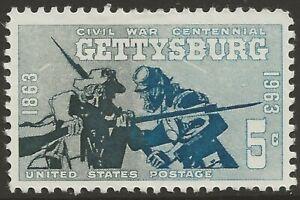 U.S. #1180 4¢ Gettysburg Civil War Centennial Series MINT LH VF