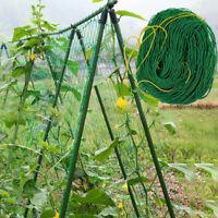 SN_ Trellis Garden Climbing Netting Plant Support Nylon Mesh Green Bean Cucumb