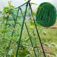 Trellis Garden Climbing Netting Plant Support Nylon Mesh Green Bean Cucumber Net