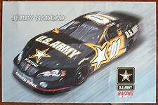 NASCAR 2003 Jerry Nadeau US ARMY 01 Officiel Carte postale. UK Dispatch