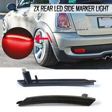For Mini Cooper Rear Fender Red LED Side Marker Light Repeater Turn Signal Light