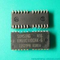 10 pcs x KM44C4100CK-6 SEC/ 4M x 4Bit CMOS Dynamic RAM DRAM SOJ-24