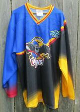 Vintage Austin Ice Bats Signed Hockey Jersey Size XL
