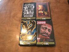 Massacre Video Lot (4 Movies) VHS*Rare*OOP*Hard to Find*