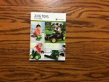 RARE New 2016 John Deere Pocket Ertl Toy Book