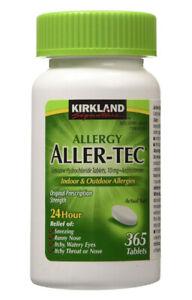 Kirkland Allergy Aller-Tec 10mg 365 Tablets