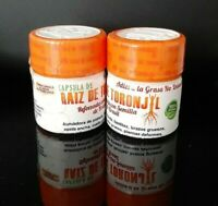 RAIZ DE TORONJIL CON SEMILLA DE BRASIL 60 CAPSULAS  30  each bottle BRAZIL SEED