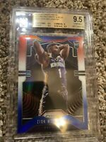 🏀💎 2019-20 Panini Prizm Red White Blue RWB Zion Williamson BGS 9.5 Gem Mint💎