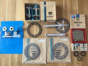 Vintage Shimano Dura Ace 10 Pitch Track Group