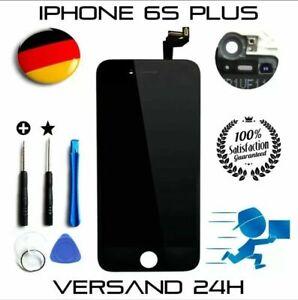 LCD Display Touchscreen für iPhone 6S Plus Schwarz + Reparaturset Werkzeuge Set