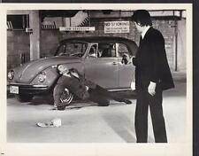 Alain Delon in once a thief vw convertible 1965  original movie photo 27185
