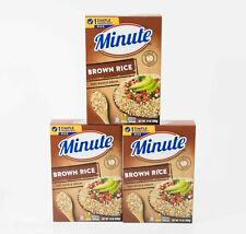 3 Minute Brown Rice Instant Whole Grain 14 oz Box 01/26/2022