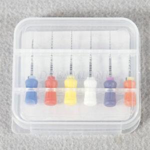 6pcs/1 box Dental Endodontics NiTi Super Rotary Files SX-F3 for Hand Use 25mm