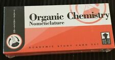 Visual Education Organic Chemistry Nomenclature Study Cards New in Box Vis Ed