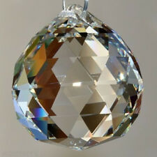 1Pcs Sphere Prism Clear Crystal Lamp Ball Rainbow Sun Catcher 20mm Decoration