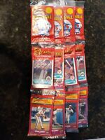 Lot of 4 NEW 1988 Score Rack wax Packs TOM GLAVINE ROOKIE RC #636 3xcards