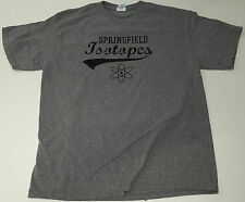 Springfield Isotopes graphic tshirt The Simpsons size L tshirt