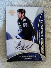 Tampa Bay Lightning Vladimir Mihalik 08/09 Ultimate Collections Rookies Auto 399