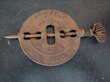 Vintage Griswold New American Cast Iron Flue Damper 6 inch