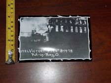HOTEL VICTORY FIRE 8/14/19 PUT IN BAY OHIO PHOTO RARE OLD VINTAGE